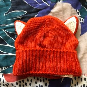 Adult Fox Ears Beanie